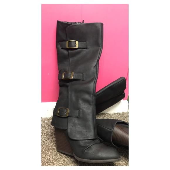 632ebc1b752d Fergalicious by Fergie Epic Western Boots NEW NWOT